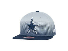 Dallas Cowboys NFL New Era Line Fade Hat Original Fit Snapback  Navy,Gray Men's