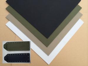 3 Größe Kydex Sheet Thermoplast Forming K Platte für Scabbard Tool