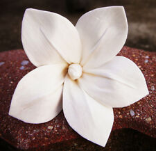 9 Frangipani White Sola Wood Diffuser Flowers 8 cm Dia.For Crafts