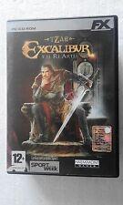 PC TZAR EXCALIBUR E IL RE ARTU DVD BOX ITA