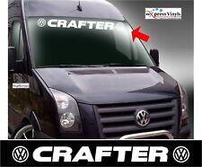 VW Crafter windscreen or sun visor decal vinyl cut sticker