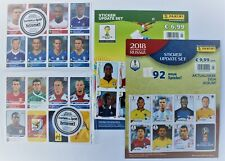 Panini World Cup 2010 + 2014 + 2018 - sealed sets of update stickers NEW