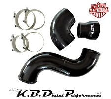 Gloss Black Turbo to KBDP Intake Connector Tube 6.5l Diesel Chevy GMC