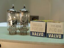 MATCHED PAIR 1960's Amperex Holland Valvo pcc88 (6dj8 6922) δ Tube Tube NEW 8