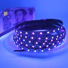 1m 5m UV strip light 395-405nm Ultraviolet purple waterproof 60led/m black light