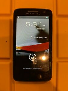 ALCATEL ONETOUCH Evolve 5020T - 4GB - Black (T-Mobile) Smartphone - Tested