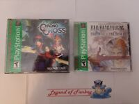 New * Final Fantasy Origins + Chrono Cross - Sony PlayStation 1 ps1 Lot * Sealed