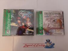 New * Final Fantasy Origins + Chrono Cross - Sony PlayStation 1 ps1 Lot * Sealed