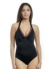 Freya Mariachi Padded Halter Swimsuit 2961 New Womens Swimwear Black
