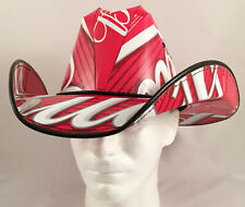 Beer Box Cowboy Hat made from recycled Budweiser beer boxes