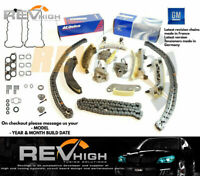 GENUINE GM GEARS GASKET V6 Holden Captiva Cg Timing Chain Kit Set Alloytec SIDI
