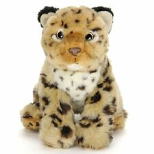 LEOPARD CUB PLUSH DOLL ANIMAL COLORATA  STUFFED TOY REAL DESIGN FREE SHIPPING