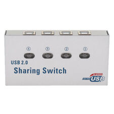USB 2.0 Auto Sharing Switch 4 Ports HUB For PC Scanner Printer