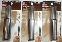 3 Pack - MAYBELLINE BROW PRECISE FIBER VOLUMIZER MASCARA #250 BLONDE 0.27FL OZ