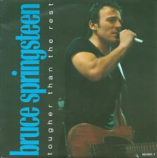 """Bruce Springsteen - Tougher than the rest (7"""") 1988 EUROPE"""