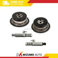 Pair Variable Timing Sprocket Camshaft Actuator Gear Solenoid Fit GM 2.0L 2.4L
