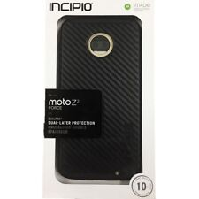 Incipio DualPro Case Protection Case Cover for Moto Z2 Force Edition Black NEW