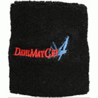Devil May Cry Terrycloth Wristband and Devil May Cry Metal Keyring Keychain