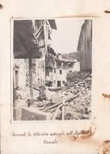 7620) WW1, ROVINE DI CANALE (SLOVENIA) NELL'AGOSTO 1917.