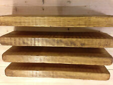 4 X 100cm Reclaimed Style Chunky Floating Shelf English Oak Shelves Wooden