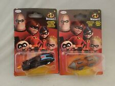 The Incredibles 2 Bundle Of 2 Diecast Cars New Disney Pixar