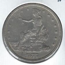 1877 US Trade Dollar XF Detail