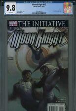Moon Knight 12 CGC 9.8 The Initiative Charlie Huston story Tony Stark Iron Man