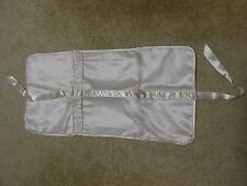 Vintage Victoria's Secret Satin Garment Bag, Lingerie Intimates Light Pink