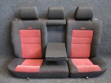 RECARO Rücksitzbank Golf 4 Rückbank STOFF Ausstattung schwarz/rot