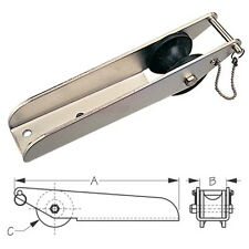 11 Inch Long Stainless Steel Fairlead Anchor Roller for Boats