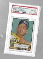1991 Topps East Coast National 1952 Mickey Mantle PSA 10 - Yankees
