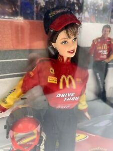 *Vintage* Collectors NASCAR OFFICIAL #94 McDONALDS BARBIE #22954 NEW IN BOX '99