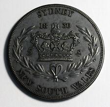 Australia NSW William IV retro Crown 1830 Bronzed Copper Coin