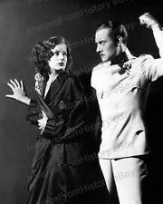 8x10 Print Greta Garbo Conrad Nagel The Mysterious Lady 1928 #GG119