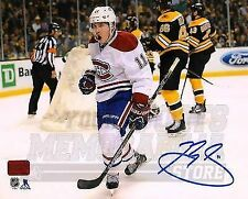 Brendan Gallagher Montreal Canadiens Signed Autographed Goal Celebration 8x10