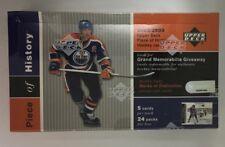 2002-03 Upper Deck Piece of History Factory Sealed Hobby Hockey Box