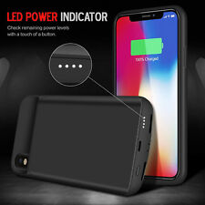 iPhone X & XS Battery Case 6000mAh Rechargeable Charger Portable Charging Cover