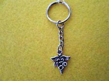 Medical Doctor MD charm key chain  #109