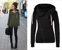 Womens Hoody Hoodie Sweater Hooded Jacket Sweatshirt Pullover Jumper Coats Tops