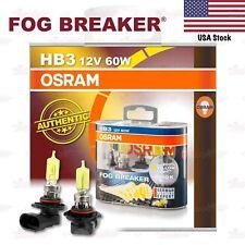OSRAM FOG BREAKER Headlight Bulbs Duo Lamp 2600K YELLOW HB3 12V 60W 9005FBR-HCB