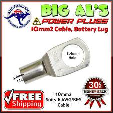 10 x 10-8 10mm2-8mm Dual Battery Auto Automotive Cable Lug Connector Crimp 8B&S