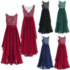 Women Formal Wedding Bridesmaid Evening Party Prom Gown Cocktail Long Maxi Dress