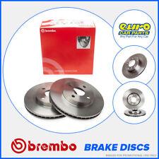 Brembo 08.8305.11 Rear Brake Discs 286mm Solid Saab 9-5 Estate YS3E 9-3