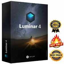 Luminar v4 2019 ✅ Windows Full Version 🔥 Lifetime Activation   5 Sec Delivery