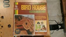 Craft Master California Redwood Bird House Ecology Kit 1973 NOS