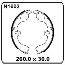 For Toyota Corolla AE80 AE82 AE90 AE92 AE93 AE94 FWD 85-8/94 REAR Drum Shoes