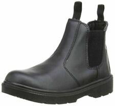 Blackrock SF12B08 Safety Leather Boots - Black, 8 UK