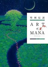 Secret of Mana Legend of Mana 25th anniversary Art book Art of Mana Japanese