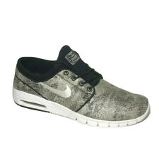 Nike Stefan Janoski Max PRM Mens Skate Shoes 10.5 Black Snakeskin 807497-012