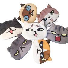 Women Cute Print Cat Face Clutch Bag Girl Plush Coin Change Purse Bag Wallet